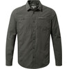 Craghoppers Kiwi Trek overhemd en blouse lange mouwen Heren Long Sleeved grijs